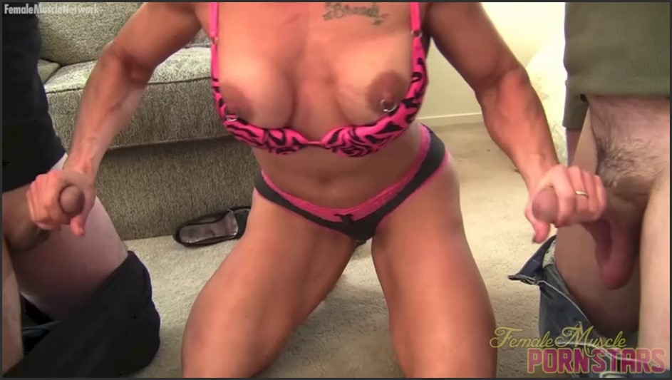BrandiMae - Don't Try To Rob A Female Muscle Girl. You'll Get Hurt.