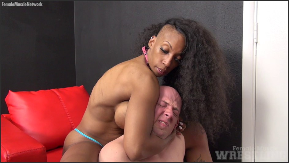 Coco Crush - She Wrestles Him Into Submission. You Get To Watch Her Win.
