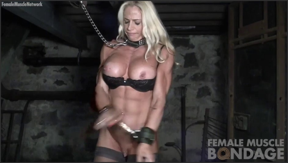 Jill Jaxen Restrained and Naked
